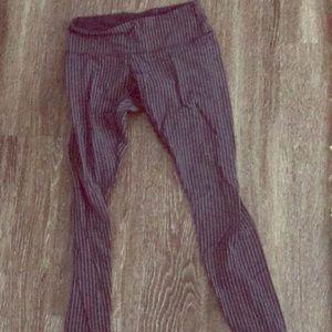 Lululemon limited edition striped leggings